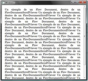 1.FlowDocumentScrollViewer
