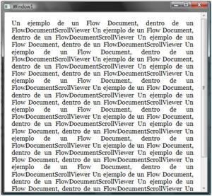 1.FlowDocumentScrollViewer